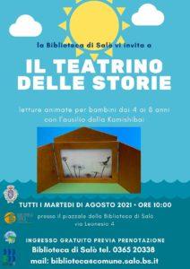 Salo - Il teatrino delle storie @ Salò piazzale della biblioteca   Brescia   Lombardia   Italia