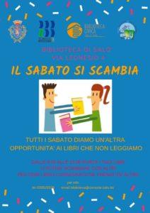 Il sabato si ...scambia a Salò @ Biblioteca Salò | Salò | Lombardia | Italia
