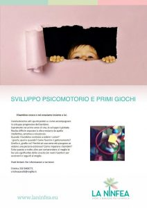 Sviluppo psicomotorio e primi giochi @ Centro La Ninfea | Lonato | Lombardia | Italia