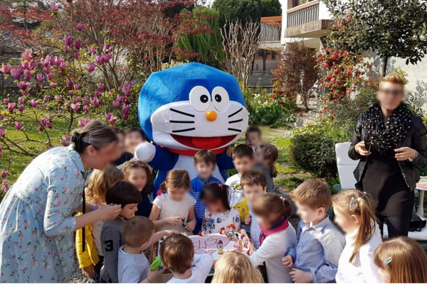 GeC Magic Animation Compleanno Mascotte Doraemon