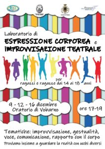 Espressione corporea e improvvisazione teatrale @ Oratorio di Vobarno | Vobarno | Lombardia | Italia