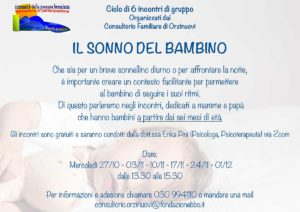 Orzinuovi - Il sonno del bambino @ Online | Villaggio Sereno | Lombardia | Italia