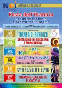 Festa dell'oratorio di  Padenghe @ Oratorio Padenghe   Padenghe Sul Garda   Lombardia   Italia