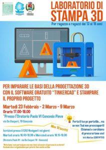 Laboratorio di stampa 3D @ Oratorio Paolo VI Concesio Pieve | Brescia | Lombardia | Italia