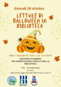 Pertica Alta - Halloween @ Biblioteca di Pertica Alta | Livemmo | Lombardia | Italia