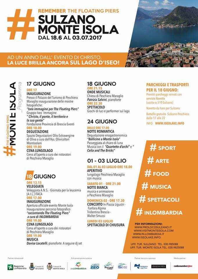 programma Monte Isola