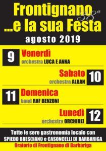 Frontignano e la sua festa @ Frontignano | Frontignano | Lombardia | Italia