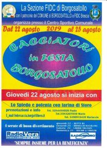 Cacciatori in festa a Borgosatollo @ Centro Sportivo Borgosatollo | Borgosatollo | Italia