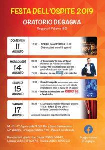 Festa dell'Ospite a Degagna @ oratorio di Degagna | San Martino | Lombardia | Italia
