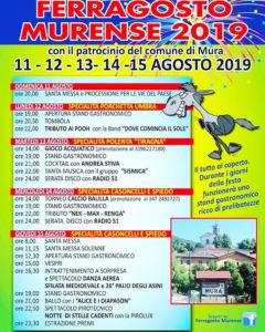 Ferragosto Murense @ oratorio di Mura | Lombardia | Italia