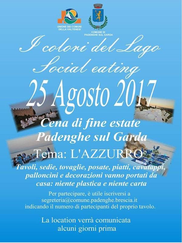 Social eating- I colori del Lago