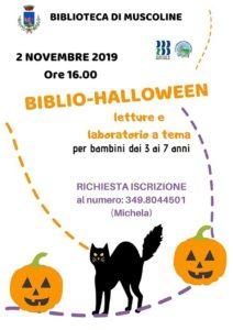 Biblio Halloween @ Biblioteca di Muscoline | Chiesa | Lombardia | Italia