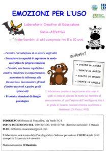 Emozioni per l'uso @ Biblioteca Muscoline | Case Nuove | Lombardia | Italia