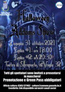 Gavardo - Halloween Addams Show @ Teatro di Sopraponte | Gavardo | Lombardia | Italia