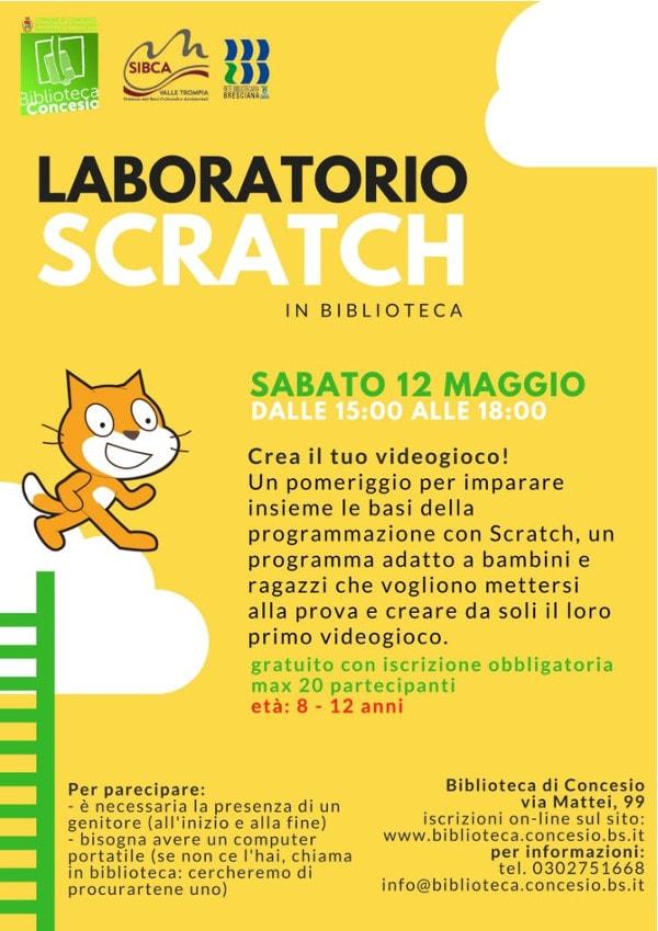 Laboratorio-scratch-biblioteca-concesio-