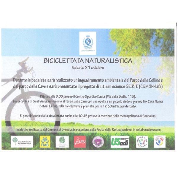Biciclettata naturalistica