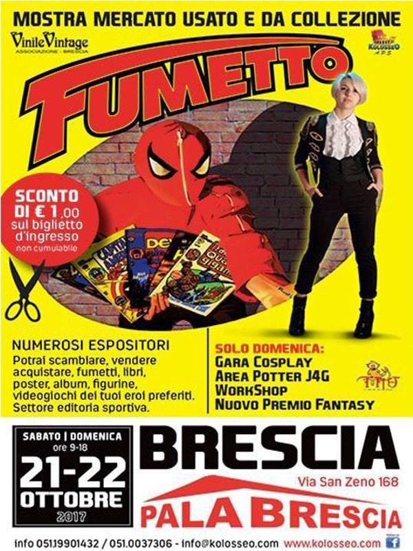 Brescia Comics: mostra Fumetto