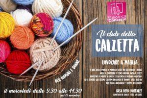 Club della calzetta @ Biblioteca di Concesio | Concesio | Lombardia | Italia