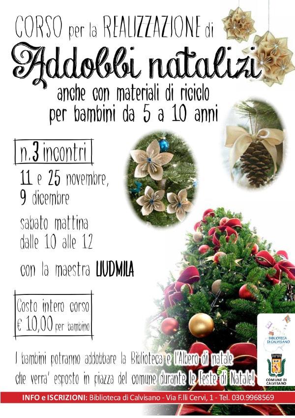 Addobbi natalizi a Calvisano
