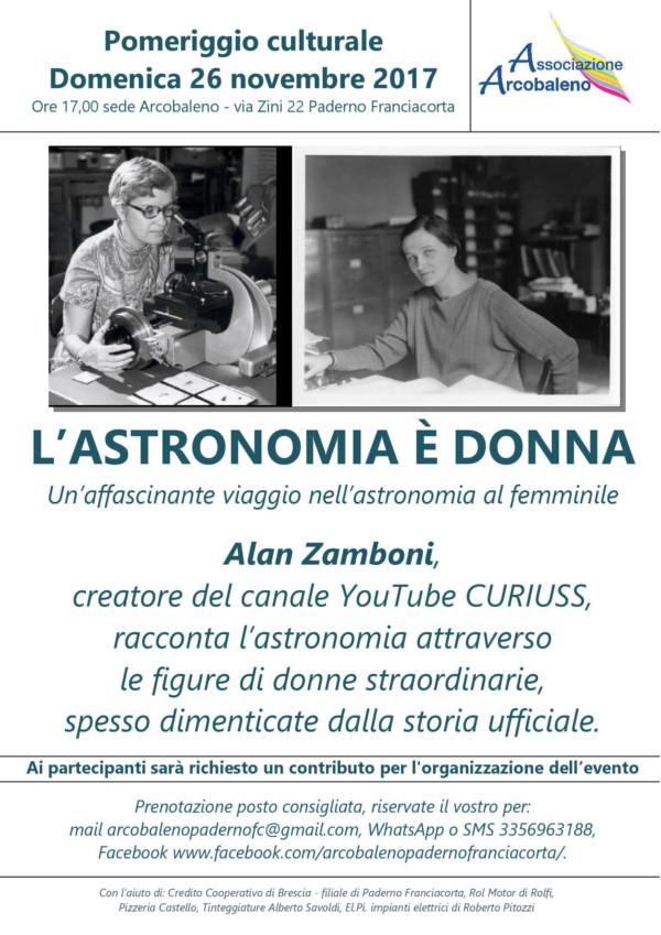 L'astronomia è donna