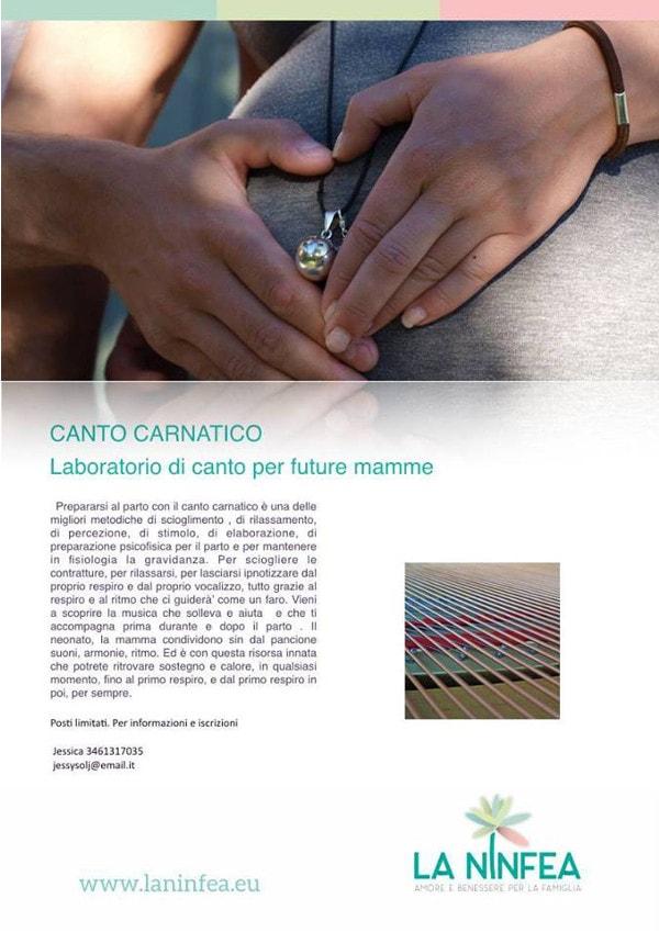 Canto carnatico - laboratorio per future mamme
