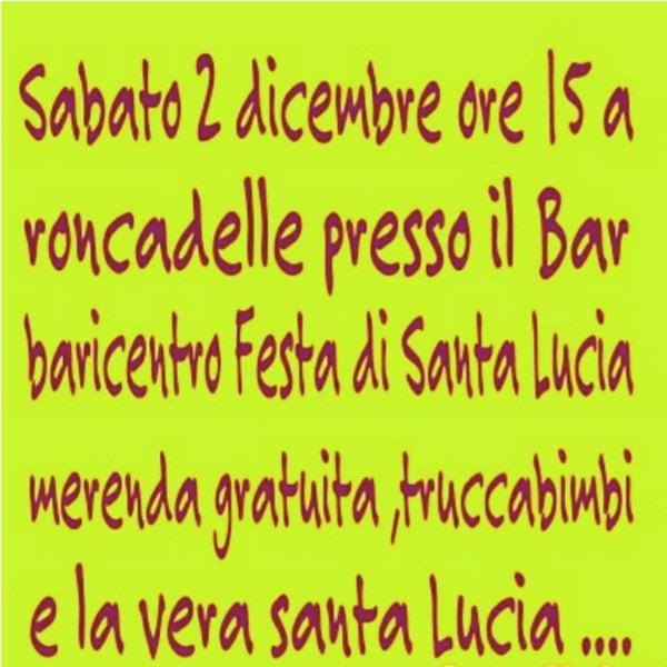 Festa di Santa Lucia al Baricentro