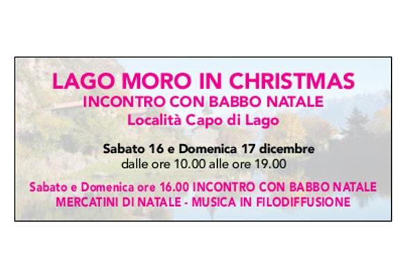 Lago Moro in Christmas