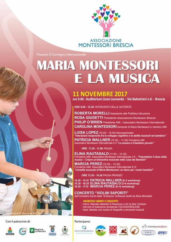 Maria Montessori e la musica