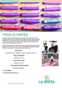 Yoga in Ninfea @ Centro La Ninfea | Lonato | Lombardia | Italia