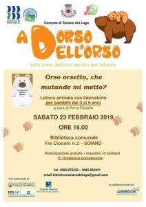 Orso, orsetto che mutande mi metto? @ Biblioteca Soiano del lago | Soiano | Lombardia | Italia