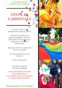 Carnevale a Colleincanto @ Colleincanto | Gavardo | Lombardia | Italia