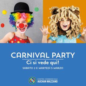 Carnival Party a Mazzano @ Auchan Mazzano | Mazzano | Lombardia | Italia