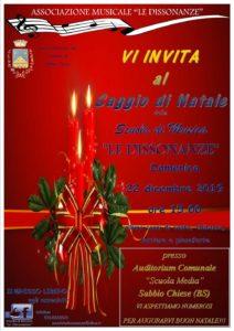 Saggio di Natale @ AUDITORIUM COMUNALE DELLA SCUOLA MEDIA SABBIO CHIESE | Vobarno | Lombardia | Italia