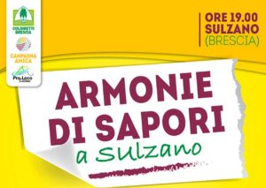 Armonie di sapori a Sulzano @ Sulzano   Sulzano   Lombardia   Italia