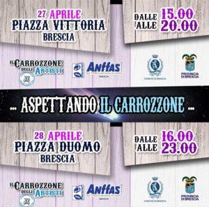Aspettando Il Carrozzone.... Esprimi un desiderio @ Piazza Vittoria e Piazza Duomo a Brescia
