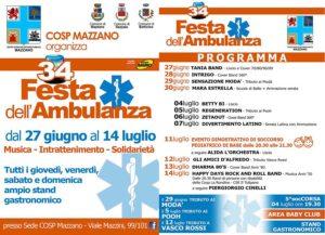 Festa dell'ambulanza @ Sede Cosp Mazzano | Rezzato | Lombardia | Italia