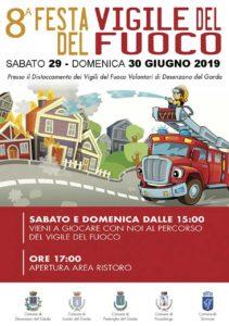 Festa dei Vigili del Fuoco a Desenzano @ Caserma di Rivoltella | Desenzano del Garda | Lombardia | Italia