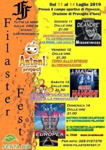 Filaster Fest @ campo sportivo Provezze | Provezze | Lombardia | Italia