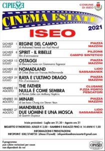 Cinema sotto le stelle a Iseo @ Iseo - vari luoghi | Iseo | Lombardia | Italia