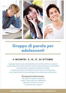 Gruppi di parola per adolescenti @ Castrezzato | Castrezzato | Lombardia | Italia