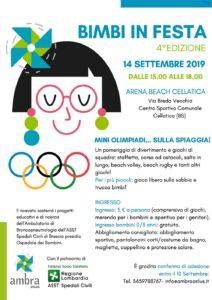 Bimbi in festa @ Arena Beach Cellatica | Cellatica | Lombardia | Italia