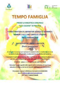 Tempo famiglia a Prevalle @ Biblioteca di Prevalle | Prevalle | Lombardia | Italia