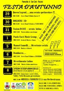 Festa d'autunno a Rezzato @ oratorio S. Carlo Rezzato | Rezzato | Lombardia | Italia