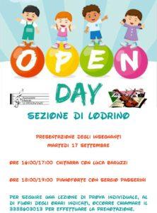 Open day Le Dissonanze [Lodrino] @ sede della Banda S. Cecilia Lodrino | Lombardia | Italia