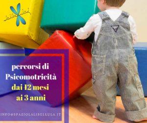 Lezione di prova Psicomotricità alla Libellula @ Spazio La Libellula | Brescia | Lombardia | Italia