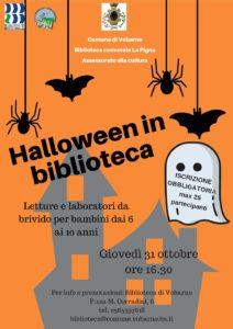 Halloween in biblioteca a Vobarno @ Biblioteca Vobarno | Vobarno | Lombardia | Italia