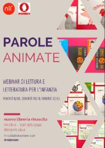 Webinar - Parole animate @ online | Nave | Lombardia | Italia
