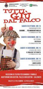 Tutti giù dal Palco @ Auditorium Bertini Calcinato   Calcinato   Lombardia   Italia