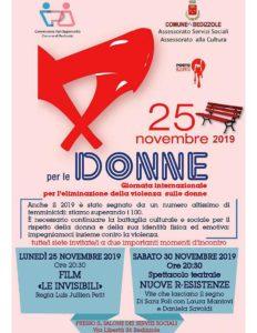 Un solo giorno non basta per contrastare la violenza sulle donne @ Salone servizi Sociali Bedizzole   Lombardia   Italia