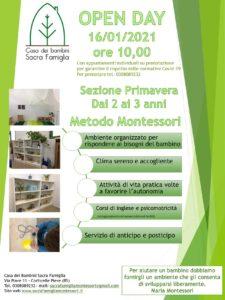 Open day Sezione primavera - Sacra Famiglia di Corticelle @ Scuola dell'Infanzia Sacra Famiglia | Corticelle Pieve | Lombardia | Italia